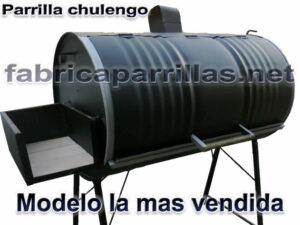 parrilla chulengo rodante tambor modelo la mas vendida asado fabricante parrillas rodantes
