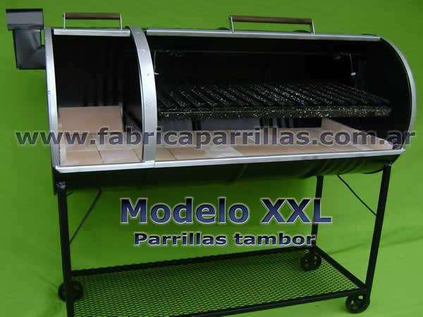 Parrillas tambor Modelo XXL