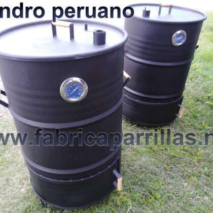 Cilindro peruano parrillas de tambor