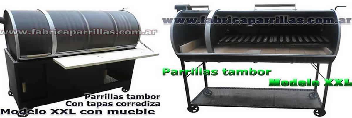 Modelo-XXL-parrillas-de-tambor-chulengo-con-tapa-corrediza-enlozadas-tamque-con-fogonero-rodantes
