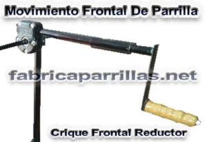 Movimiento Frontal De Parrilla Crique Frontal Reductor